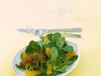 Tuna Tartare with Oranges and Lamb's Lettuce recipe
