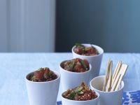 Tuna Tartare with Sesame recipe