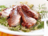 Tuna with Cucumber recipe