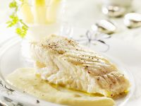 Turbot Fillet with Puree recipe
