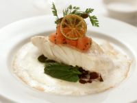 Turbot Fillets with Coconut Sauce