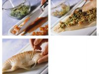 Step-by-step for Stuffing Fish recipe