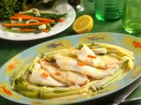 Turbot with Hollandaise Sauce recipe