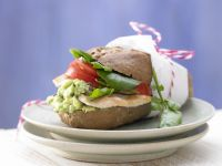 Turkey and Avocado Burgers recipe