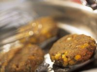 Turkey and Corn Patties recipe
