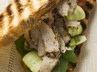 Turkey and Cucumber Grilled Sandwich recipe