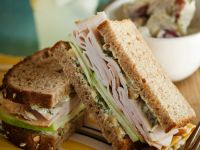 Turkey and Curried Mayo Sandwich recipe
