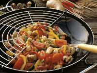 Turkey and Pepper Stirfry recipe