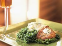 Turkey Breast with Kale and Mashed Potatoes recipe