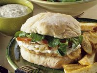 Turkey Burger and Fries recipe