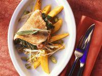 Turkey Cutlets with Mango recipe