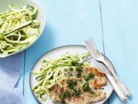Turkey Escalopes with Zucchini recipe