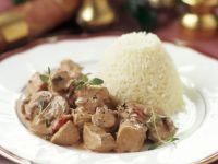 Turkey Goulash with Rice