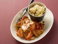 Turkey Goulash with Sauerkraut and Thyme recipe