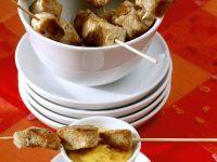 Turkey Kebabs with Mango Dip recipe