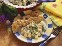 Turkey Kebabs with Potato Salad recipe