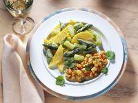Turkey Pan with Asparagus recipe