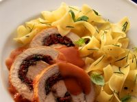 Turkey Rolls Stuffed with Pesto and Cheese recipe