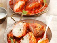 Turkey Rolls with Sage in Tomato Sauce recipe