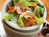 Turkey Salad with Romaine Lettuce recipe