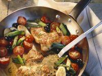 Turkey Schnitzel with Vegetables recipe