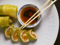 Turkey 'sushi' recipe