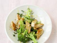 Turkey Strips with Broccoli and Lemon Sauce recipe