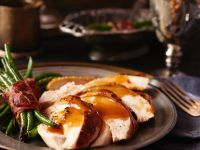 Turkey with Green Beans recipe