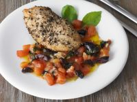 Turkey with Mediterranean Salsa recipe