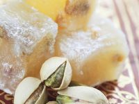 Turkish Delight with Pistachios recipe
