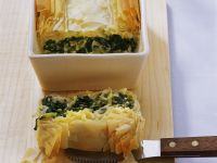Turkish Feta and Spinach Pie recipe