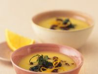 Turnip Soup with Oranges recipe