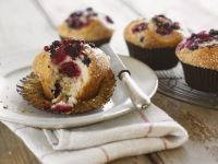 Two-berry Muffins recipe