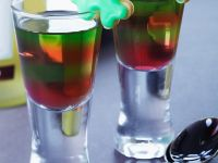 Two Colour Fruit Jelly recipe