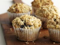 Two Fruit Crumble Cakes recipe