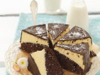 Two-tone Ganache Gateau recipe