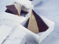 Two-Tone Triangle Cookies recipe