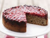 Upside Down Cranberry Cake recipe