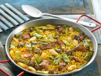 Valencian Rice with Beans recipe