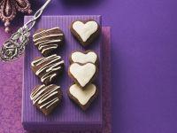 Valentine Chocolate Biscuits recipe