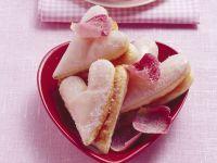 Valentine Puff Pastries recipe
