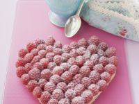 Valentine Raspberry Tart recipe