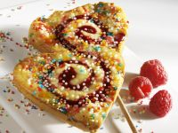 Valentine's Day Cake Lollies recipe