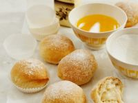 Vanilla Cream Filled Donuts recipe
