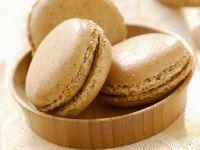 Vanilla Cream Filled Macaroon Sandwich Cookies recipe