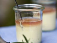 Vanilla Cream with Lavender Jelly recipe