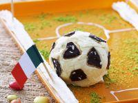 Vanilla Ice Cream Soccer Balls