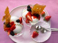 Vanilla Ice Cream Sundaes recipe