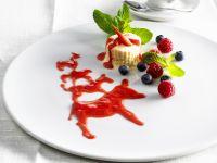 Vanilla Ice Cream with Berry Sauce recipe