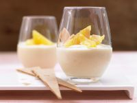 Vanilla Pudding with Oranges recipe